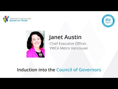 Honouring YWCA Metro Vancouver CEO Janet Austin