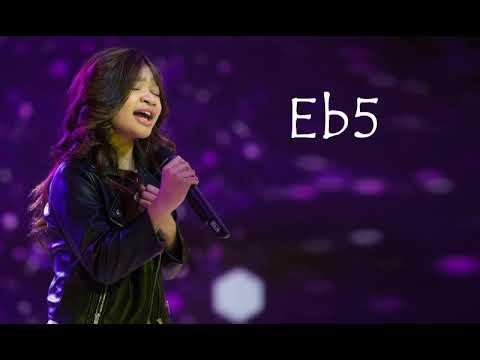 Angelica Hale Vocal Range: E3 - G5 - F6