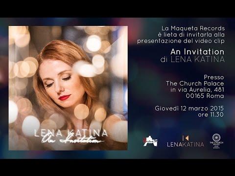 An Invitation - Lena Katina - Press Conference - The Church Palace - Rome