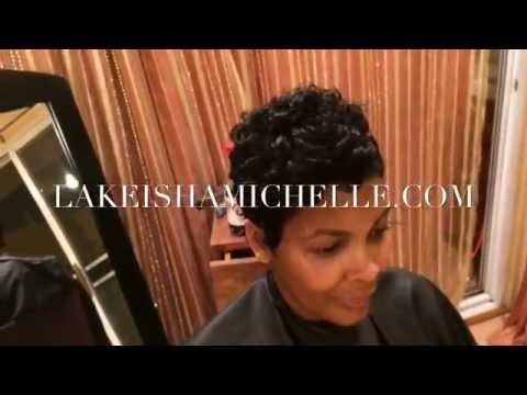 Los Angeles California Short Hair Specialist Licensed Stylist Youtube