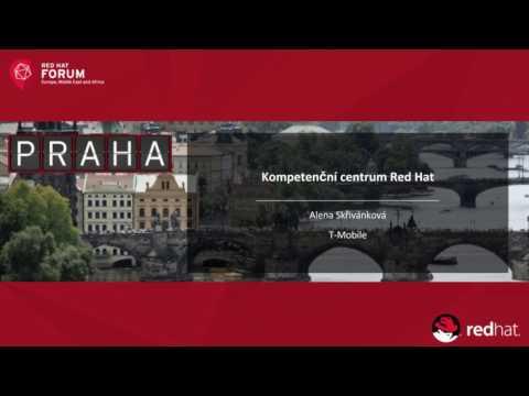 Kompetenční centrum Red Hat v T-Mobile Czech republic