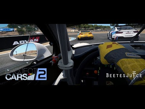 Project CARS 2:  Online - GT3 @ Laguna Seca - VR Gameplay