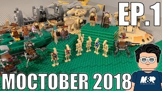 Battle of Naboo in LEGO | MOCTOBER EP.1 (2018)
