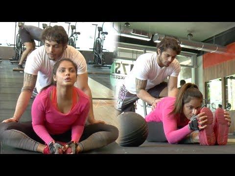 Neetu Chandra's HOT & Super Flexible Gym Workout Video