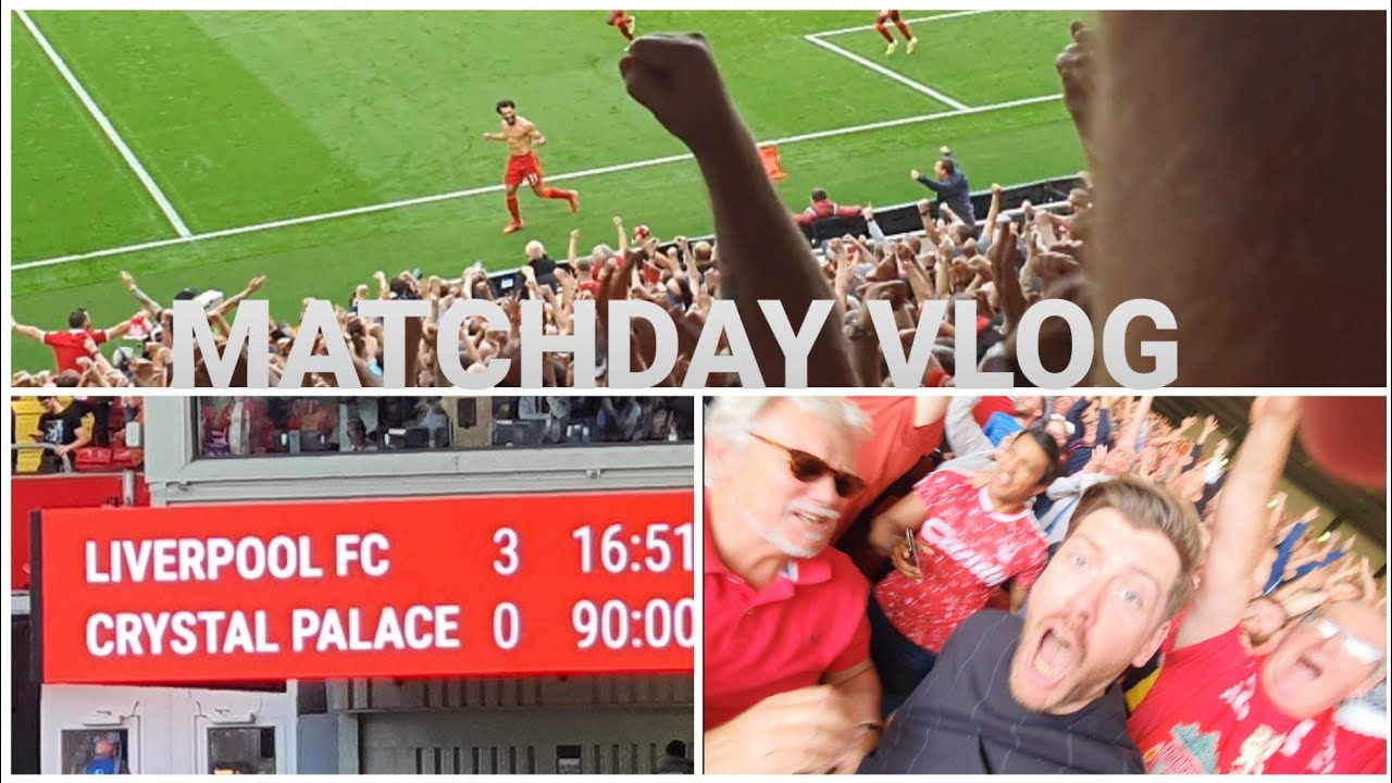 Download LIVERPOOL 3-0 CRYSTAL PALACE   MATCH VLOG
