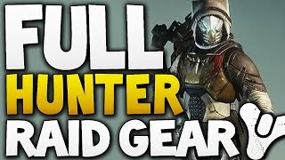 Destiny - HUNTER FULL RAID GEAR