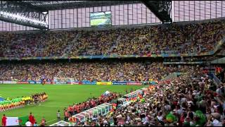 Algeria vs Russia National Anthems FIFA World Cup 2014