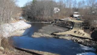 Winnicut River Dam Removal Time-Lapse