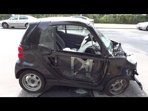 Smart fortwo / crash car  [HD]