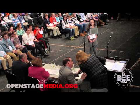 2014 Capital District SPELLING BEE part 1