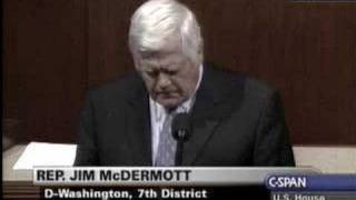 Rep. Jim McDermott - The President