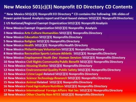 NewMexico 501C3 Nonprofits