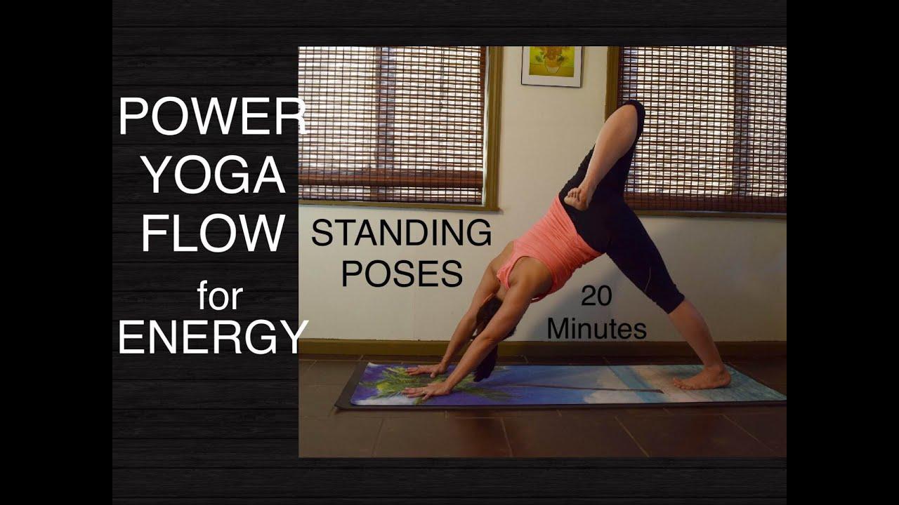 Intermediate Energizing Power Vinyasa Flow Yoga - 20 ...