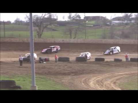 UMP Modified Heat #3 from Florence Speedway, March 25th, 2017.