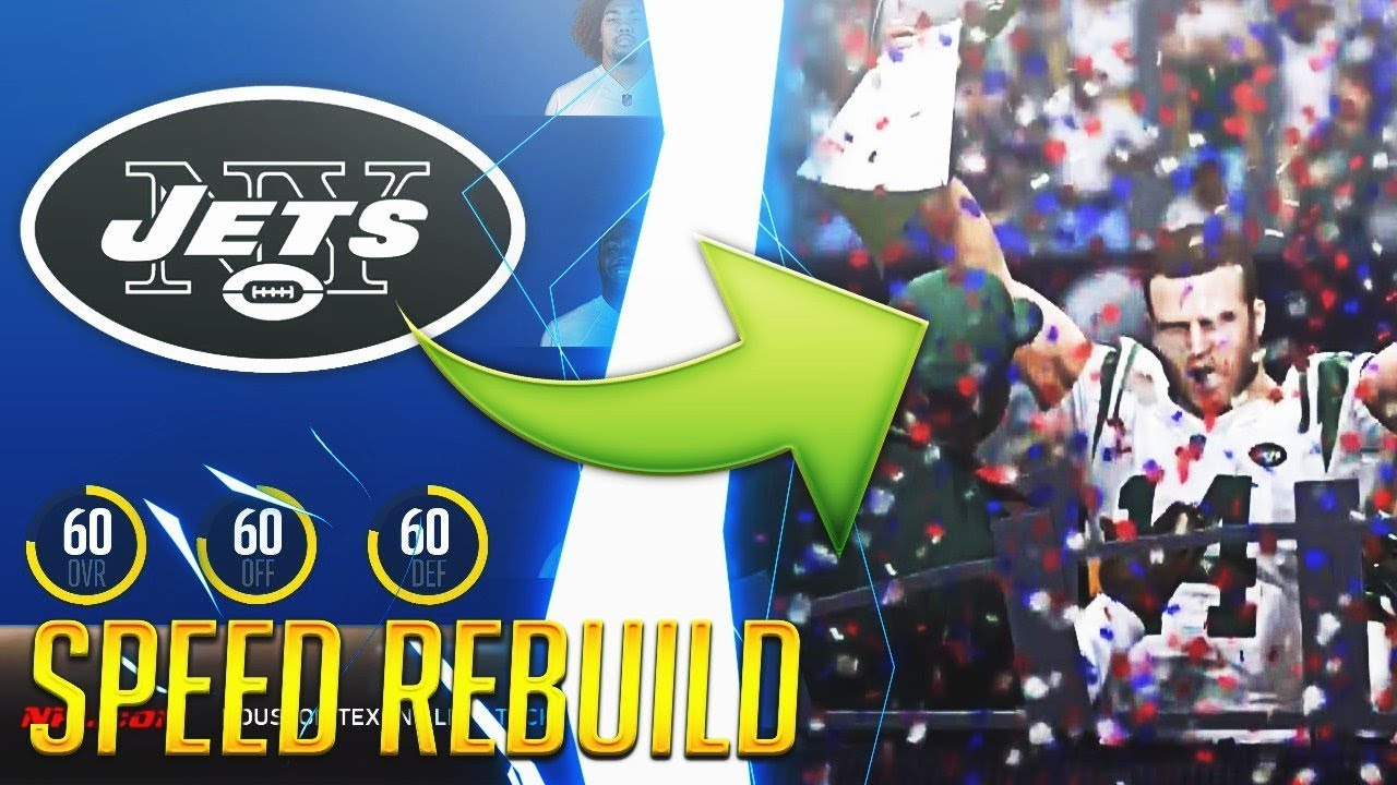 How To Turn The Worst Team Into Super Bowl Contenders in 7 Minutes. Return of Madden Speed Rebuilds