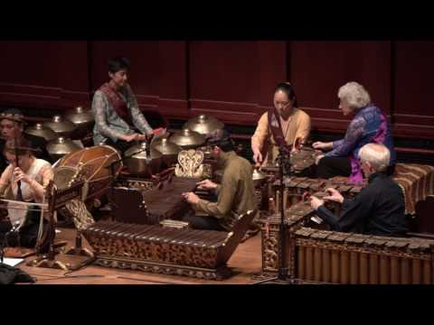 University of Michigan Gamelan Concert, 2017 - Dance Drama
