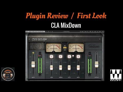 Mixing - Home Studio - Waves CLA MixDown Plugin