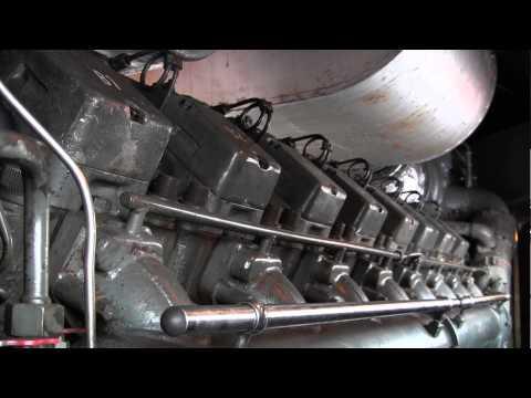 Startvorgang einer Diesellok