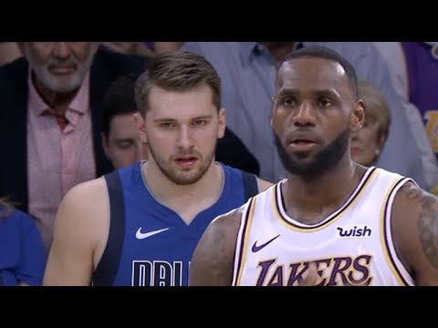 Dallas Mavericks Vs La Lakers 1st Half Highlights December 29 2019 Nba 2019 20