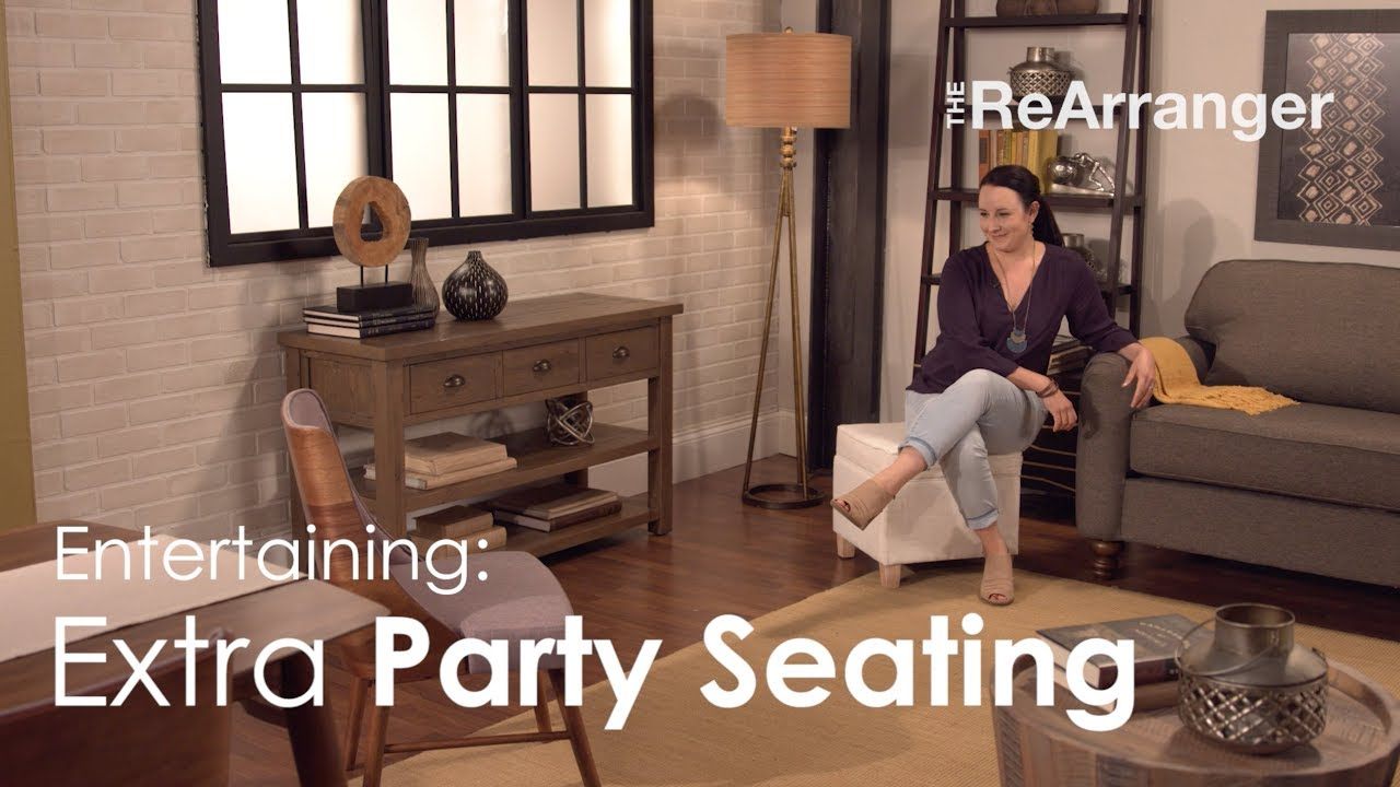 Slumberland Accent Chairs With Arms.Slumberland Furniture S The Rearranger Entertaining Extra Party Seating