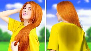 LONG HAIR vs SHORT HAIR Problems - Funny Awkward Situations by La La Life GOLD