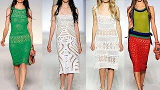САМЫЕ КРАСИВЫЕ ПЛАТЬЯ! Модные платья 2017 - Тренды, БРЕНДЫ