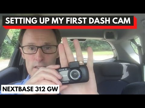 Setting up my first dash cam.   Nextbase 312GW