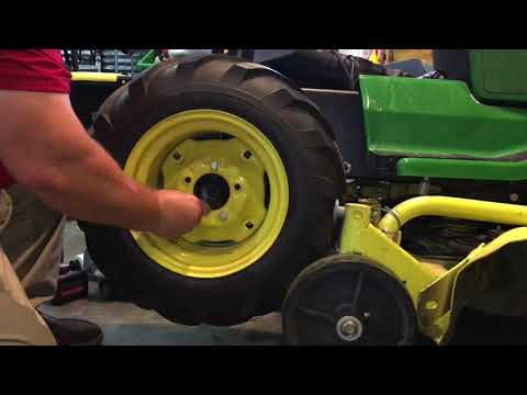 How To Replace O Ring Packing John Deere 425 Transaxle Youtube