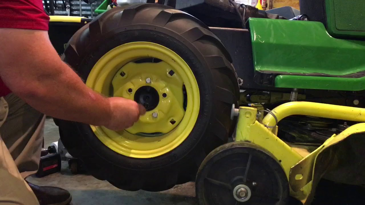 How to replace o-ring packing / John Deere 425 Transaxle