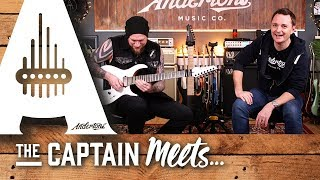 The Captain Meets Shred Machine Andy James!