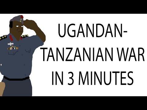 Ugandan-Tanzanian War | 3 Minute History