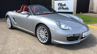 For sale - Porsche Boxster RS60 LTD Edition 318 / 1960 - Nick Whale Sports Cars