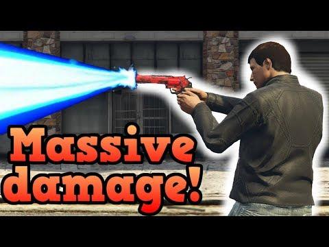 Insane revolver fire glitch! - GTA Online