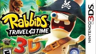Rabbids Travel in Time 3D Gameplay {Nintendo 3DS} {60 FPS} {1080p}