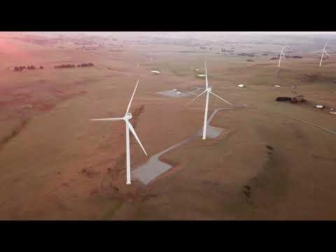 Taralga Wind Farm   Drone Footage [4K]