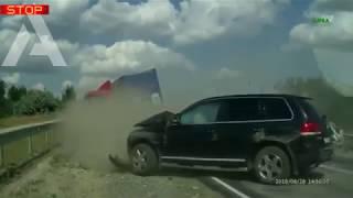 Авто аварии жесть 18 + , ТОП самых страшных ДТП 2018