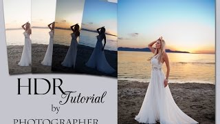 How to do HDR with a single RAW file in Photoshop - Tutorial
