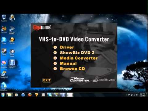 GIGAWARE VHS TO DVD CONVERTER WINDOWS 7 DRIVERS DOWNLOAD