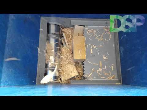 Holzschredder für Zimmerei und Tischlerei Abschnitte