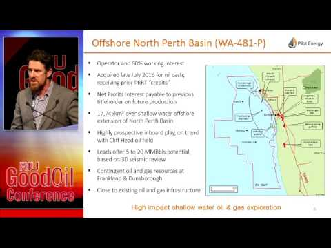 RIU Good Oil Conference | Pilot Energy Limited Presentation 13.09.16