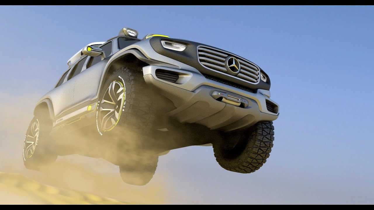 ▻ mercedes ener-g-force concept - official trailer - youtube