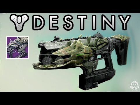 Destiny quot light of the abyss quot raid weapon legendary crotas end