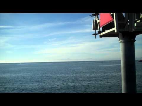 Views from the pier at Santa Barbara, California