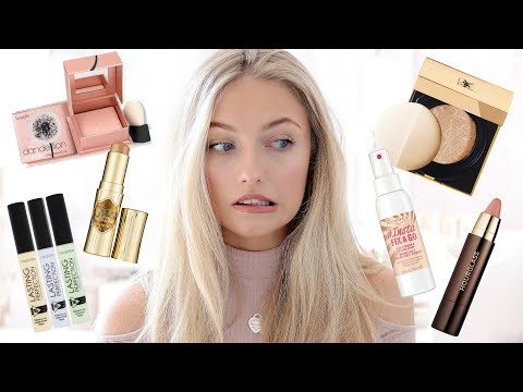 FACE FULL OF FIRST IMPRESSIONS! TESTING NEW LAUNCH DRUGSTORE & HIGH END MAKEUP | Freddy My Love