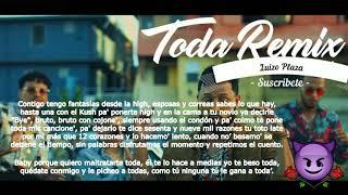 Alex Rose - Toda (Remix) Ft. Cazzu, Lenny Tavarez, Rauw Alejandro & Lyanno (Letra)