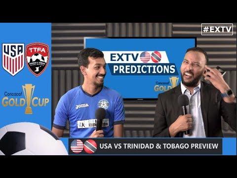 USA Vs Trinidad And Tobago Preview   Gold Cup 2019
