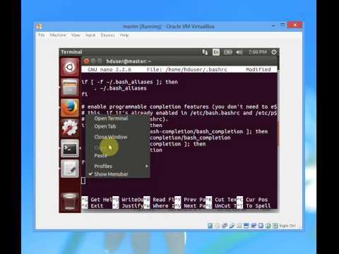 How to install hadoop 2.7.1 single node cluster ubuntu 14.04 - YouTube