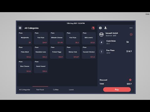 Designing a Dark Theme for Point of Sales in C#