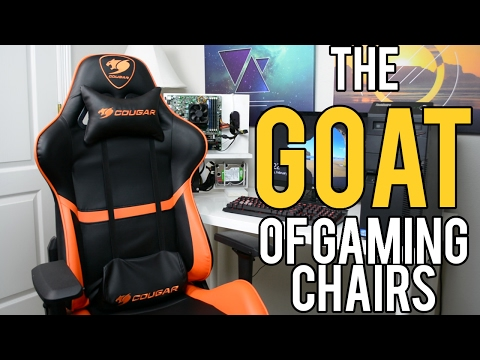 "Cougar ARMOR Review! - The ""GOAT"" of Gaming Chairs (2017)"