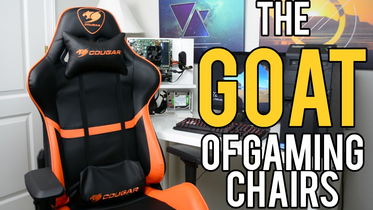 "Cougar ARMOR Review The ""GOAT"" Of Gaming Chairs 2017"